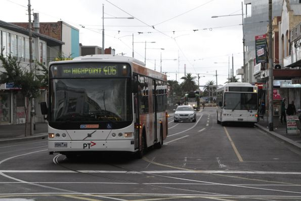 CDC Melbourne bus #97 9580AO on a route 406 service at Footscray