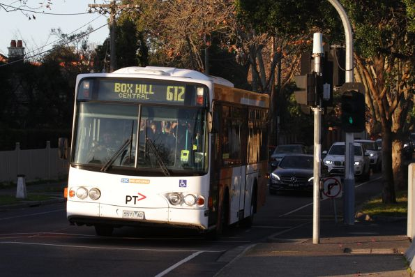 CDC Melbourne 5571AO on a route 612 service in Camberwell