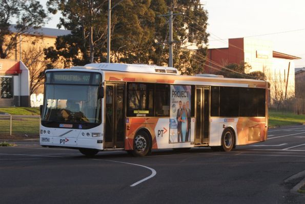 CDC Melbourne 3997AO on a route 407 service at Raleigh and Rosamond Road