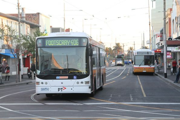 CDC Melbourne 5499AO on a route 406 service at Footscray