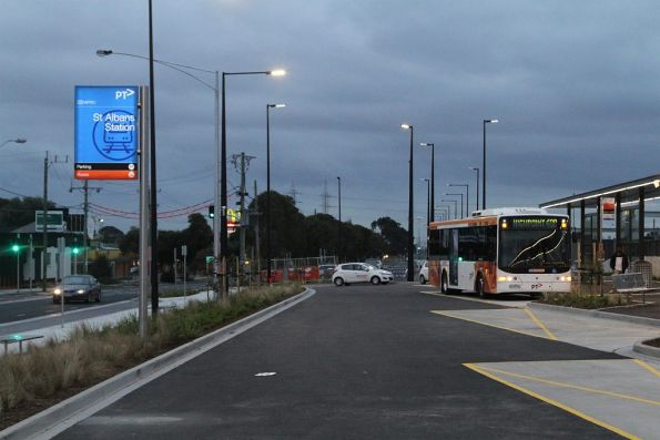 CDC Melbourne #74 6139AO on a route 408 service at St Albans station