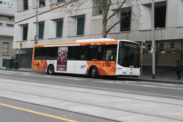 CDC Melbourne #123 7513AO at the new city terminus of route 605