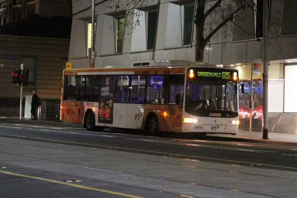 CDC Melbourne #110 5484AO at the new city terminus of route 605