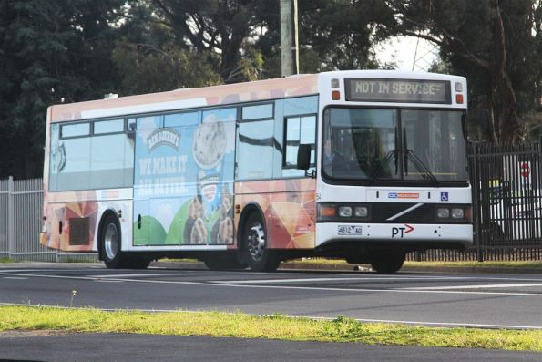 CDC Melbourne non-airconditioned bus #54 4812AO heads along St Albans Road bound for Sunshine depot