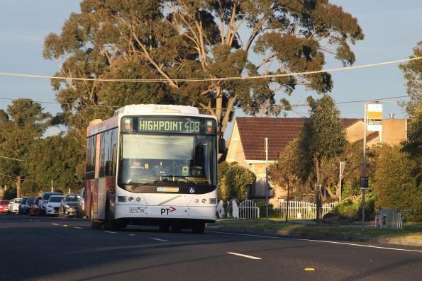 CDC Melbourne bus 6172AO on a route 408 service in Sunshine