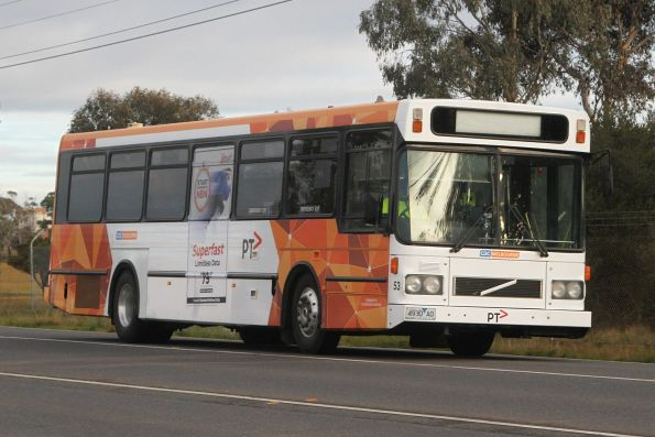 CDC Melbourne high floor bus #53 4930AO at Deer Park