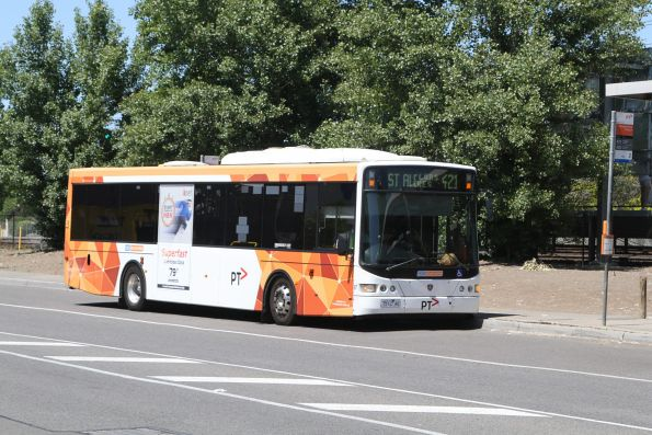 CDC Melbourne bus #87 7512AO on route 421 at Watergardens station