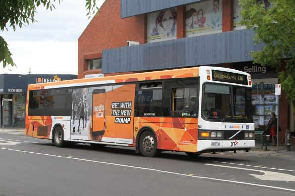 CDC Melbourne non-airconditioned bus #54 4812AO on a route 410 service in Sunshine