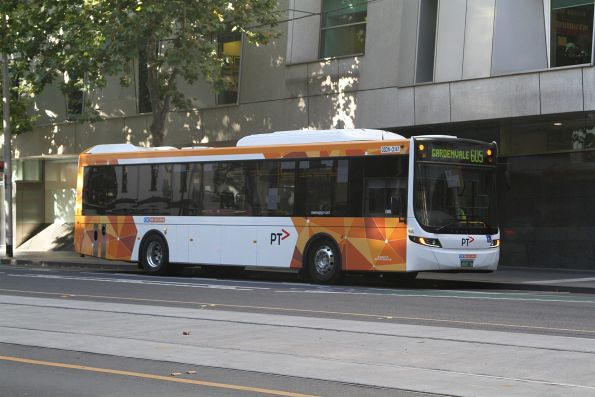 CDC Melbourne bus #147 BS03DN at the route 605 terminus on William Street