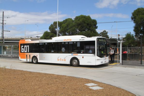 CDC Melbourne bus #130 8414AO on route 601 at Huntingdale station