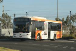 CDC Melbourne bus W221-8066 8066AO on route 497 departs Williams Landing station