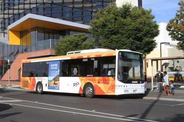 CDC Melbourne bus #72 5922AO on route 408 at Sunshine Plaza