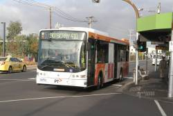 CDC Melbourne bus #86 7365AO on route 410 at Footscray station