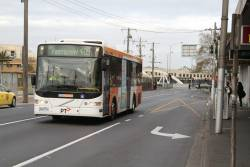 CDC Melbourne bus #104 5934AO on route 409 at Footscray station