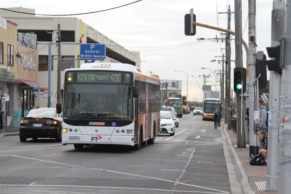 CDC Melbourne 6159AO on route 406 at Footscray station