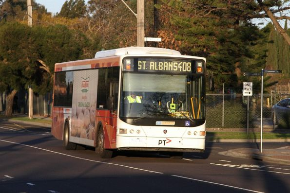 CDC Melbourne bus 7512AO on route 408 on Devonshire Road in Sunshine