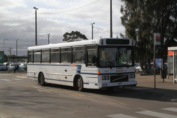 CDC Melbourne high floor bus #62 4833AO at Werribee station