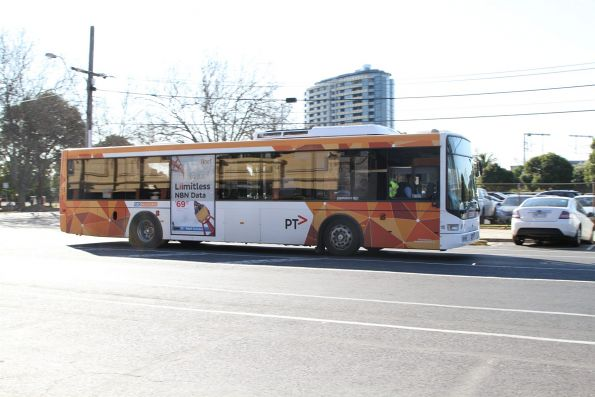 CDC Melbourne bus #110 5484AO on route 624 at Caulfield