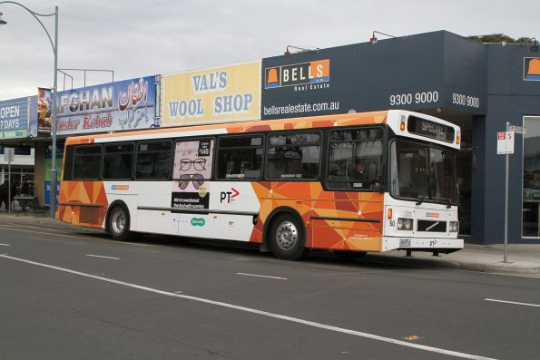 CDC Melbourne high floor bus #50 4929AO on Devonshire Road in Sunshine