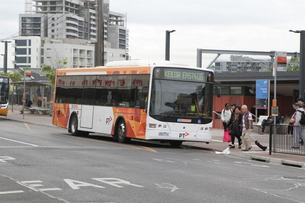 CDC Melbourne bus #81 6507AO on route 406 at Footscray station