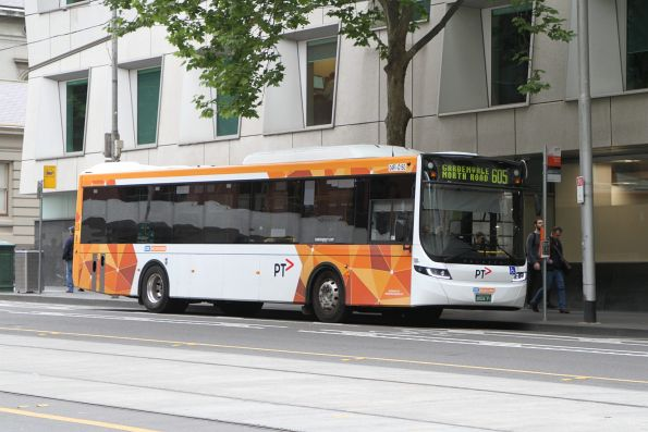 CDC Melbourne bus #150 BS04FI on route 605 at Flagstaff station
