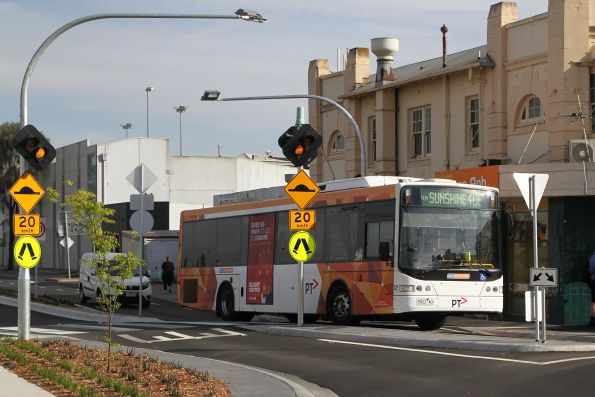 CDC Melbourne bus #72 5922AO on a route 408 service at Sunshine station