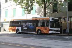CDC Melbourne bus #100 4944AO on route 605 at Flagstaff station