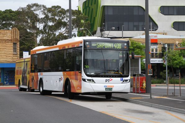 CDC Melbourne bus #114 BS04FQ on route 408 at Sunshine station