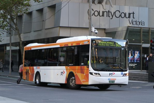 CDC Melbourne bus #149 BS03DO on route 605 at William and Lonsdale Street