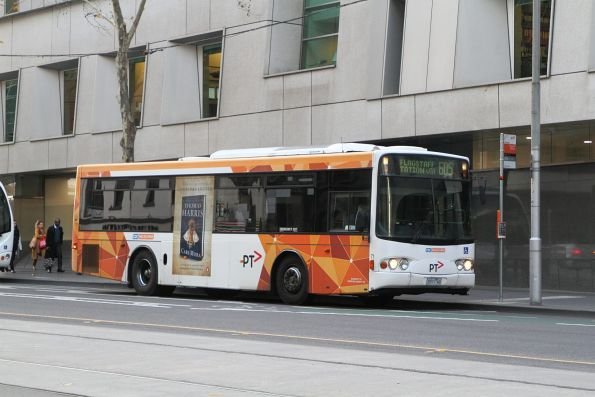 CDC Melbourne bus #71 5571AO at the route 605 terminus on William Street