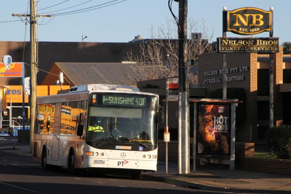 CDC Melbourne bus 5516AO on route 408 on Devonshire Road, Sunshine