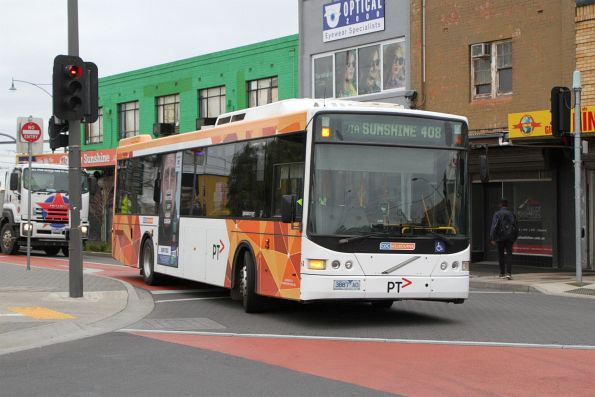 CDC Melbourne bus #64 3887AO on route 408 at Sunshine station