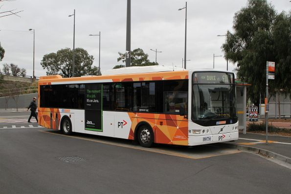 CDC Melbourne bus #98 9581AO on route 410 at Sunshine station