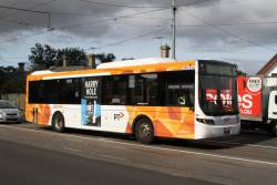 CDC Melbourne bus #114 BS04FQ on route 406 at Ballarat Road and Gordon Street
