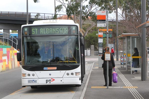 CDC Melbourne bus 6173AO on route 408 at Sunshine station