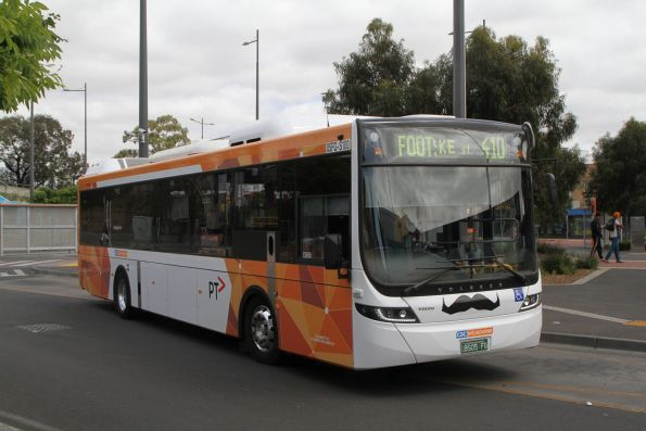 CDC Melbourne hybrid bus #100 BS05FG on route 410 at Sunshine station