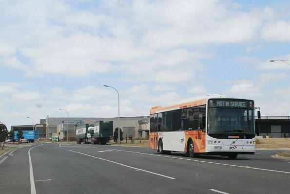 CDC Melbourne bus 9491AO departs the Wyndham depot