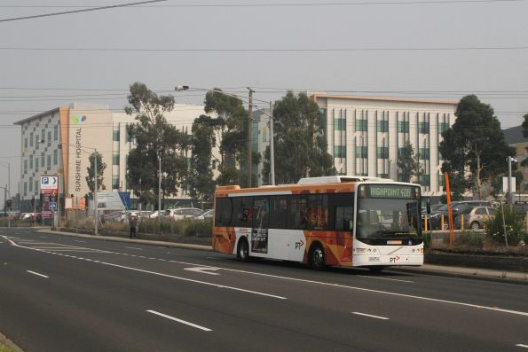 CDC Melbourne bus #104 5934AO on route 408 at Sunshine Hospital