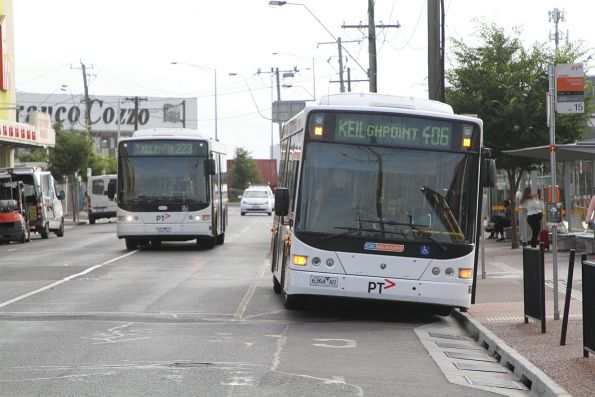 CDC Melbourne bus 6364AO on route 406 at Footscray station
