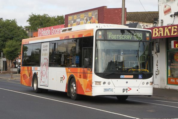 CDC Melbourne bus #67 5500AO on route 409 at Footscray station