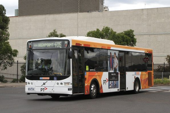 CDC Melbourne bus #88 8014AO on route 406 departs Highpoint Shopping Centre