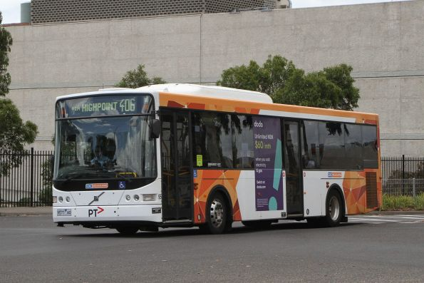 CDC Melbourne bus #95 9577AO on route 406 departs Highpoint Shopping Centre