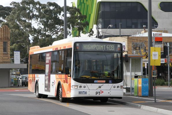 CDC Melbourne bus #91 9071AO on route 408 at Sunshine station