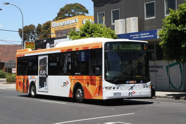CDC Melbourne bus #93 9073AO on route 408 at Devonshire and Hampshire Road in Sunshine