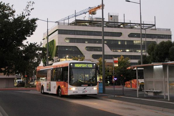CDC Melbourne bus #95 9577AO on route 408 at Sunshine station