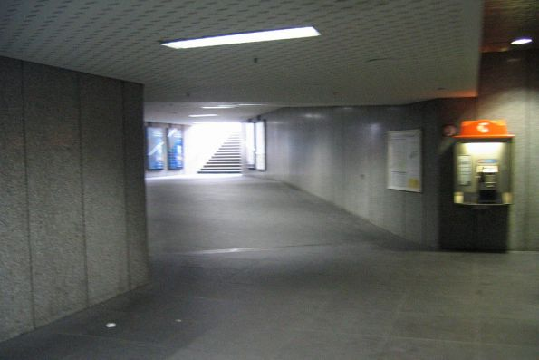 Bourke Street exit at Parliament station