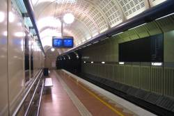 Flagstaff Station, Clifton Hill loop, platform 1