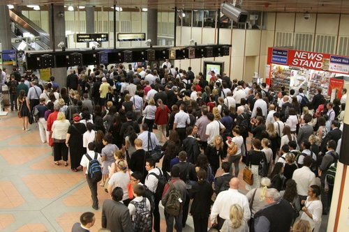 Wow - the morning queues at Flagstaff are getting even worse!