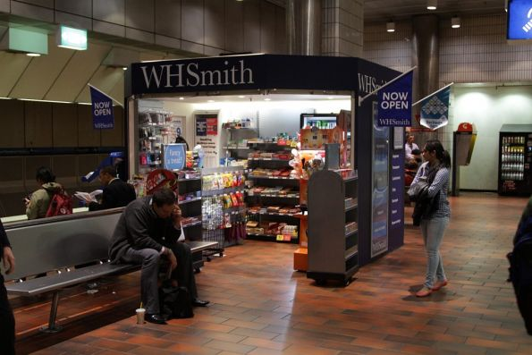 WHSmith newsagent kiosk opened on platforms 3 and 4 at Melbourne Central