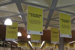 'If you see something, say something' scaremongering blankets Flagstaff station